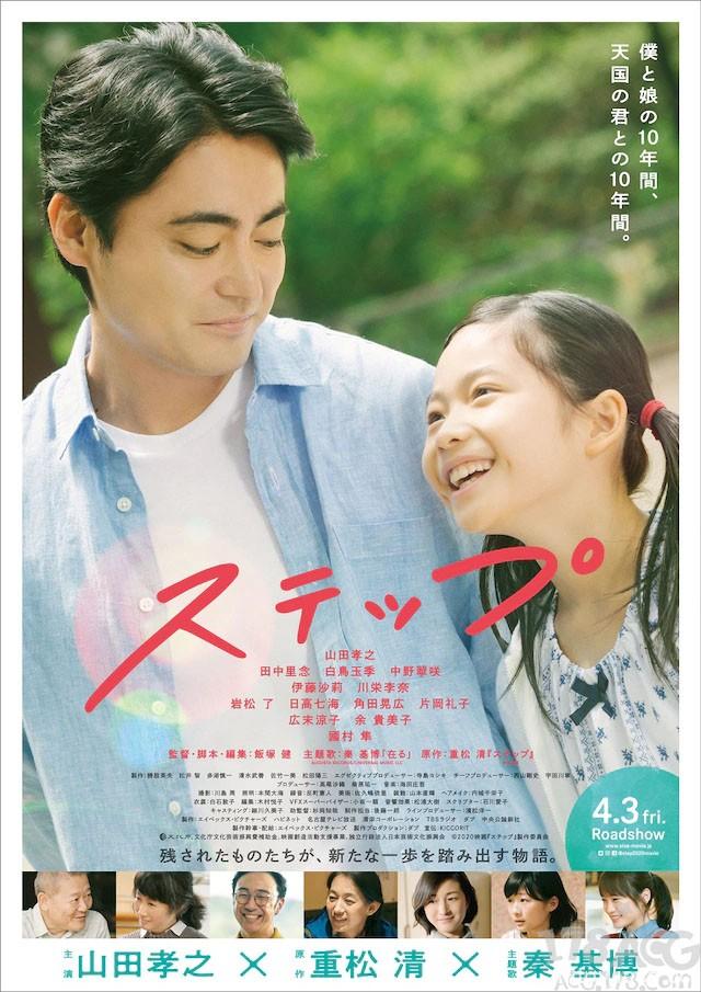 中川大志将参演山田孝之主演电影「ステップ」,4.3上映