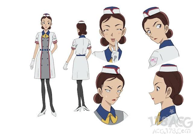 滨边美波作为嘉宾声优参演剧场版「名侦探柯南 绯色的子弹」
