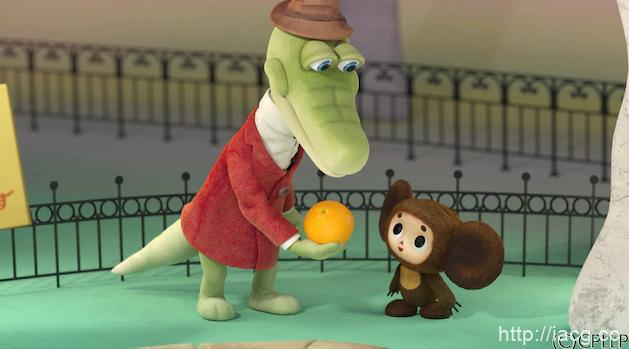经典名作「大耳猴」首部全CG短篇动画公开 俄罗斯风情