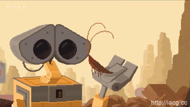 纪念地球日 皮克斯公开16bit版「机器人总动员」短片