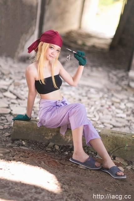 人气作品「钢之炼金术师」女性角色的cosplay特集!
