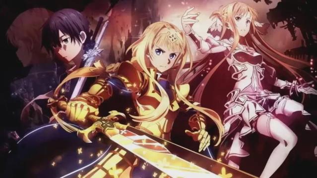 「刀剑神域 爱丽丝篇 异界战争」总作画监督公开最终话贺图