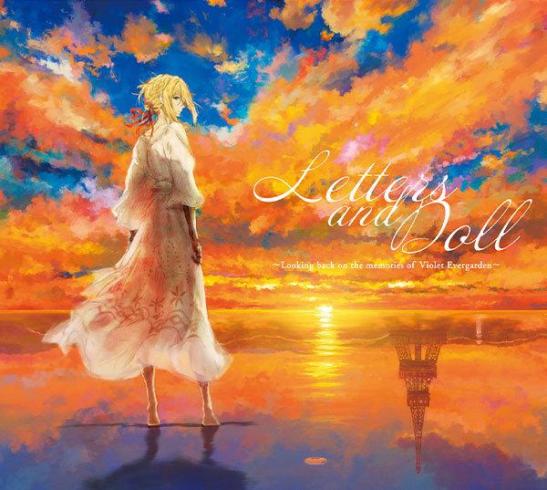 「紫罗兰永恒花园」声乐专辑封面公开