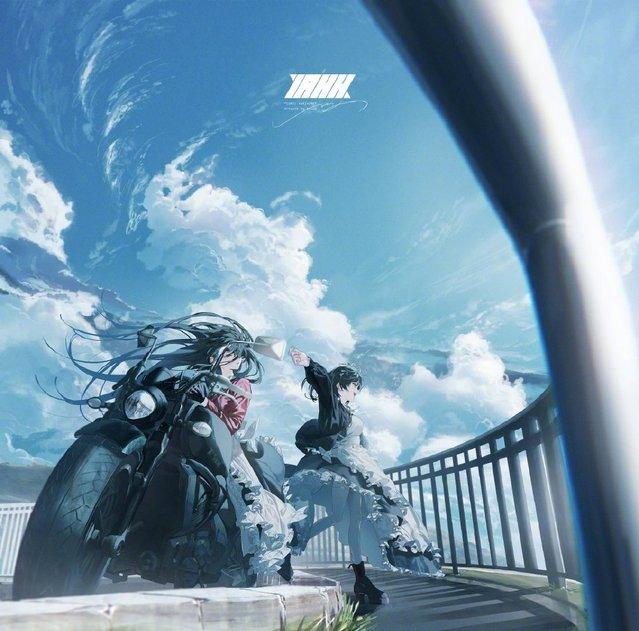 杂志「comic百合姫」2020年封面插图公开