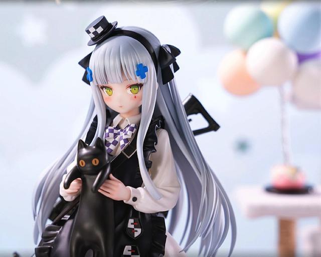 「少女前线」HK416黑猫的赠礼Ver.手办登场