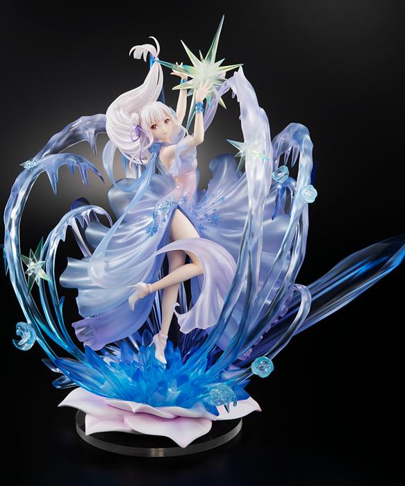 「Re:从零开始的异世界生活」爱蜜莉雅 水晶礼服Ver. 1/7手办开订