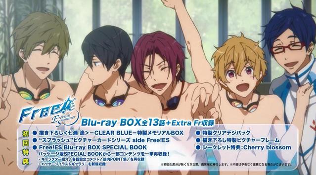 TV动画「Free!」第一季&第二季 蓝光DVD 发售预告公开