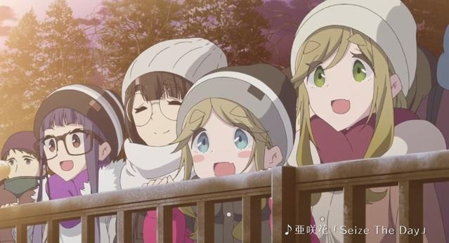 TV动画「摇曳露营△」第2季正式PV公开