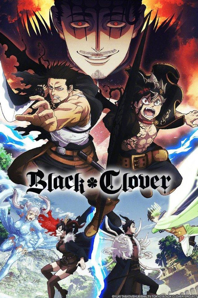 TV动画「黑色五叶草」新视觉图公开