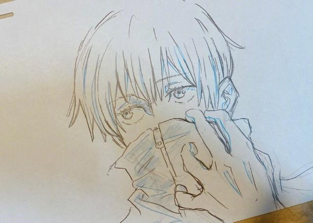 Nishii Terumi「咒术回战」狗卷棘新绘公开