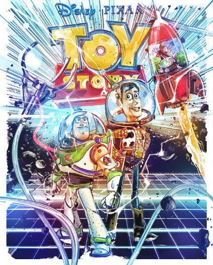 庆祝「玩具总动员」25周年 皮克斯公开特别海报