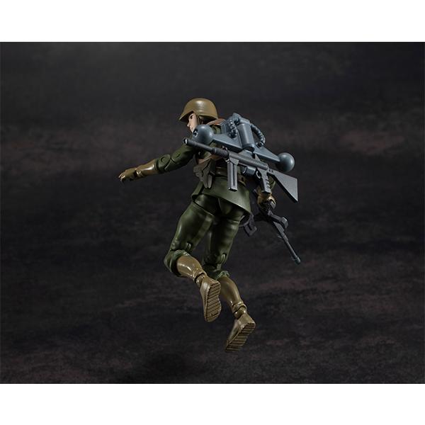 「机动战士高达」吉翁公国军 一般兵士手办即将发售