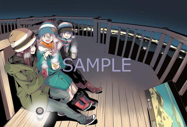 TV动画「摇曳露营△」决定发售第二季Blu-ray&DVD全3卷