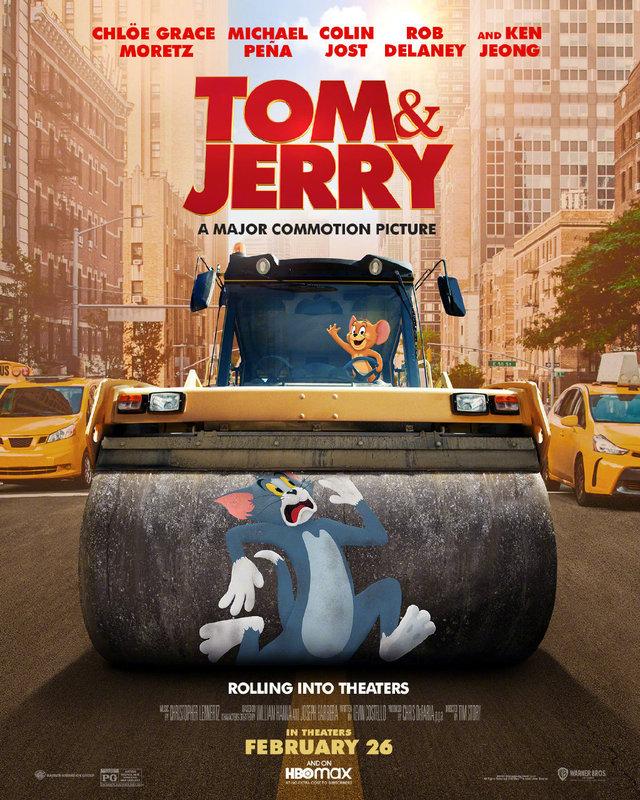 真人动画电影「猫和老鼠」公开全新海报