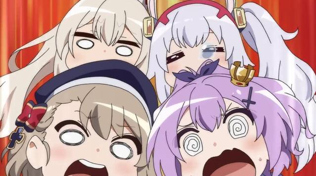 TV动画「碧蓝航线 微速前行!」Blu-ray全2卷发售CM公开