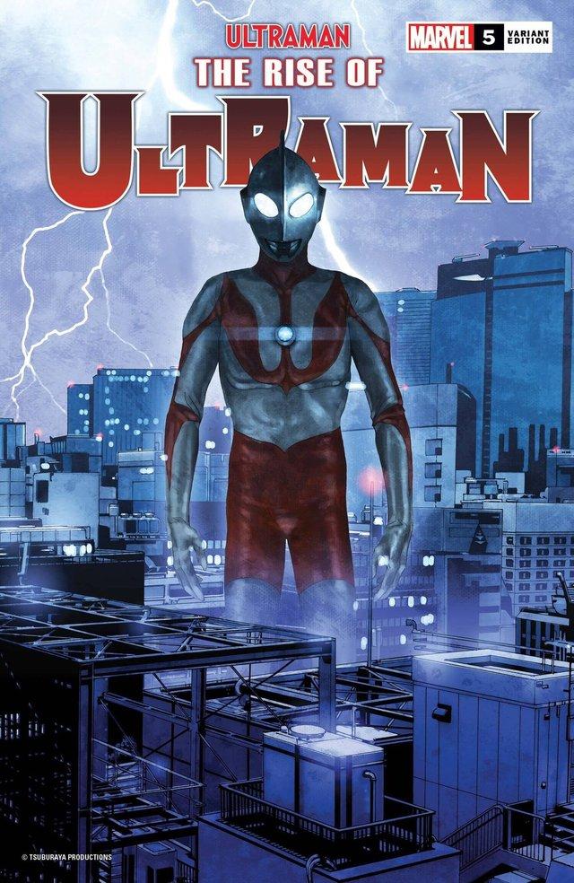 漫威特摄漫画系列「奥特曼崛起」公开新预览图及限定封面
