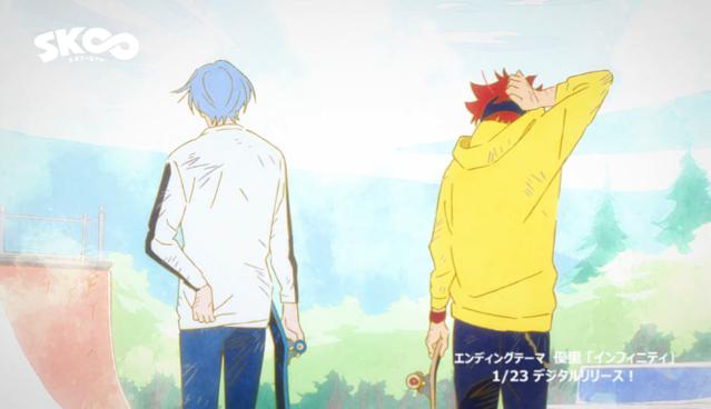 TV动画「SK∞ エスケーエイト」OP&ED公开