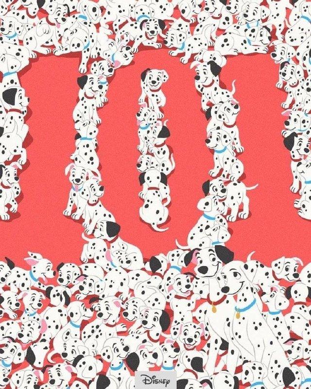经典动画电影「101忠狗」60周年纪念海报公开