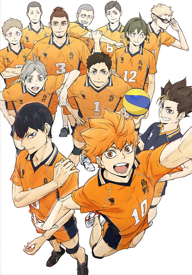 TV动画「排球少年」第4期Blu-ray & DVD最终卷封面公开