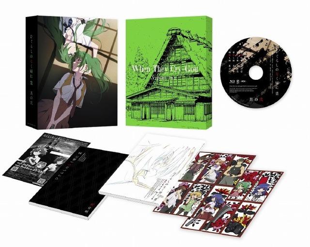 「寒蝉鸣泣之时 业」Blu-ray&DVD第2卷封面公开