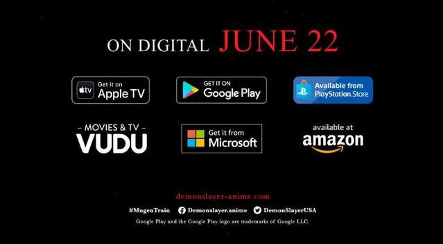 「鬼灭之刃:无限列车篇」北美地区上映宣传PV公开