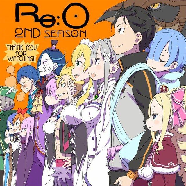 大冢真一郎「Re:从零开始的异世界生活」第二季最终话贺图公开