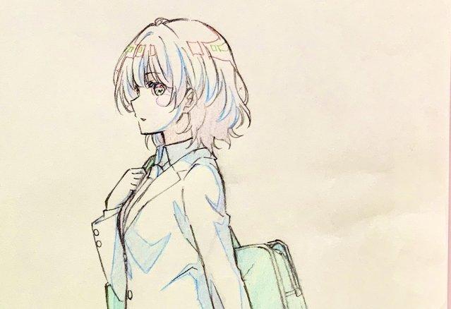 TV动画「弱势角色友崎君」作画监督公开最终话宣传绘