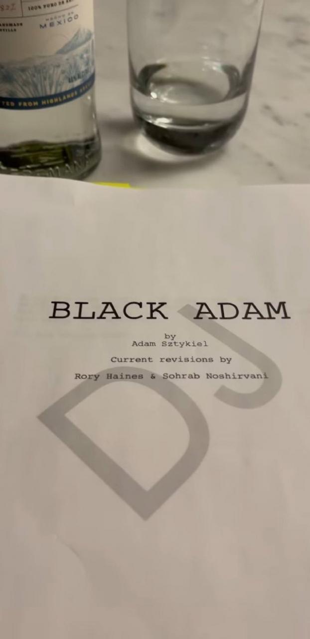 漫改电影「黑亚当」确认开拍及重要卡司阵容