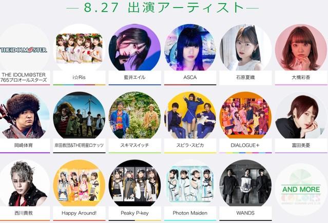 2021日本年度动漫歌节参演艺人名单公布