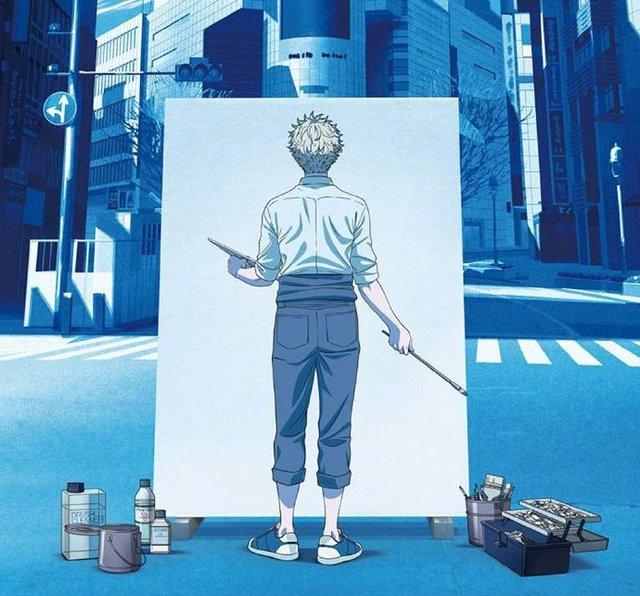 动画「蓝色时期」先导视觉图公开