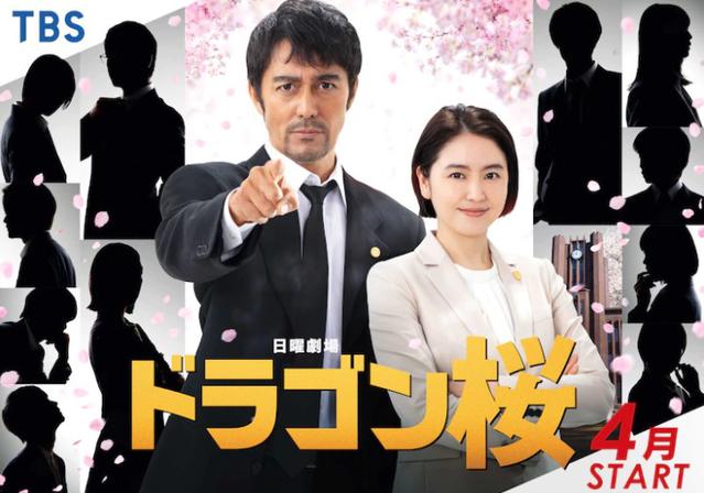 经典漫改日剧「龙樱」续集公开最新海报