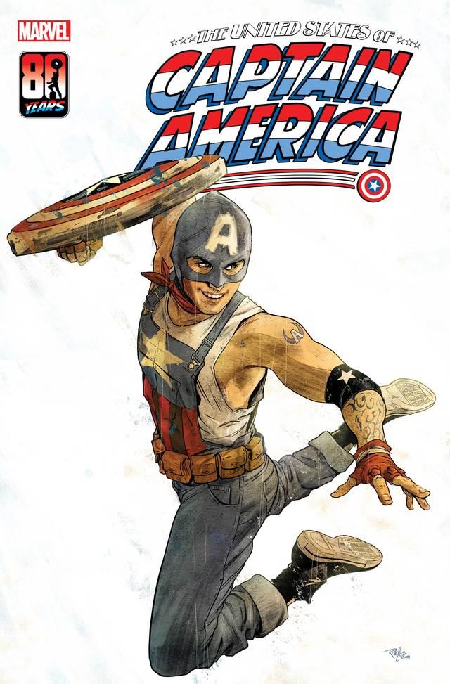 漫威计划推出一位新美国队长漫画形象