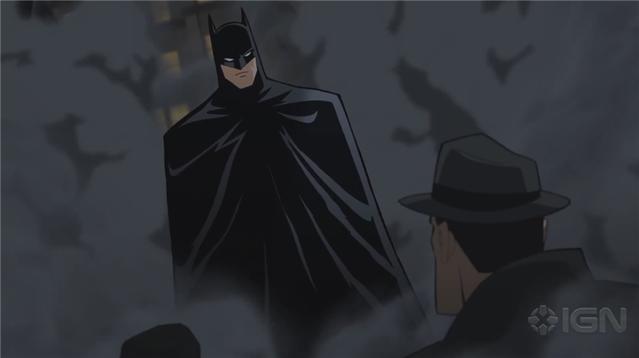 动画电影「蝙蝠侠:漫长的万圣节」上部预告公开