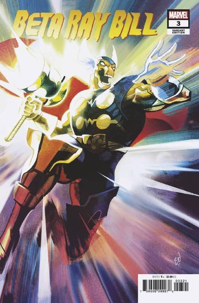 「马面雷神」变体封面图公开