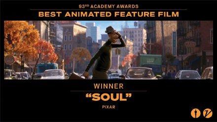 第93届「奥斯卡」动画相关获奖名单出炉