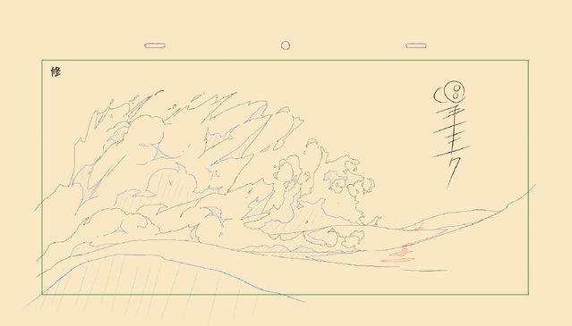 「秦岭神树」水下水花和气泡制作手稿公开