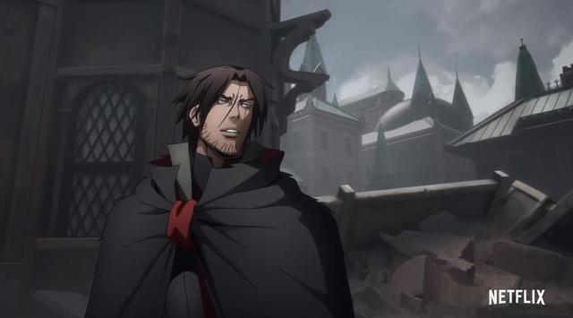 网飞原创动画「恶魔城」第四季预告片公开