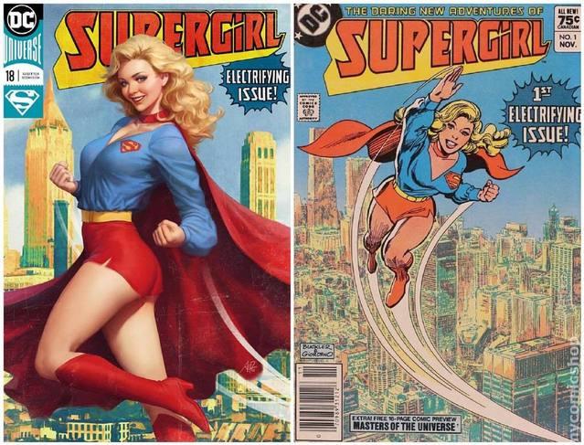 DC御用画师公开作品致敬经典对比图