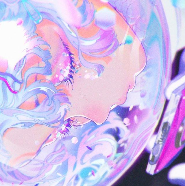 日本插画师米山舞新绘公开