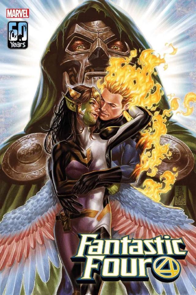 「神奇四侠」5月全新故事「杜姆的新娘」变体封面公开