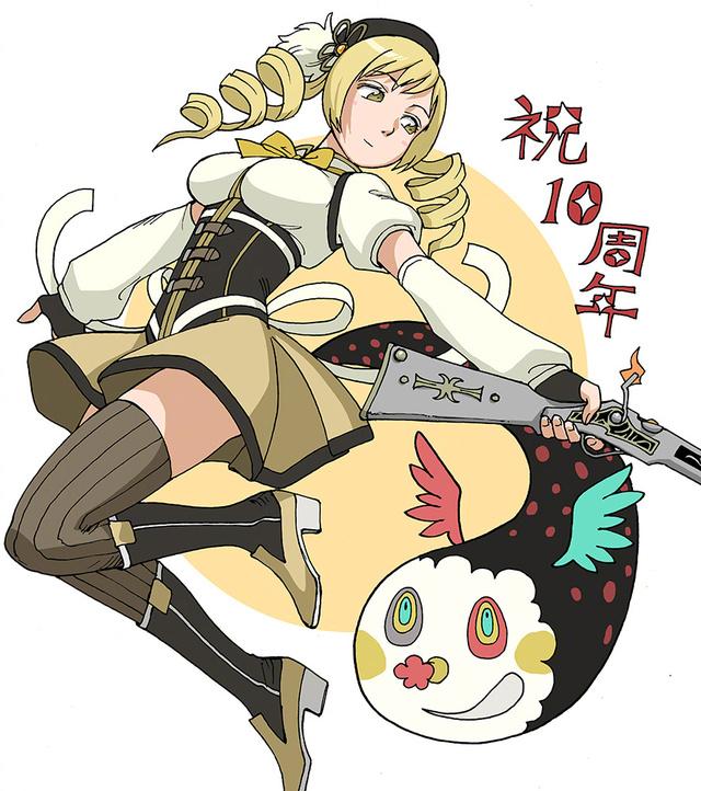 石黑正数「魔法少女小圆」10周年纪念贺图公开