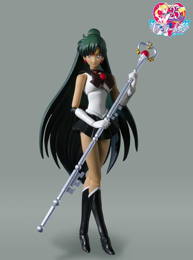 万代公开「美少女战士」水手冥王星「-动画配色-Ver.」手办