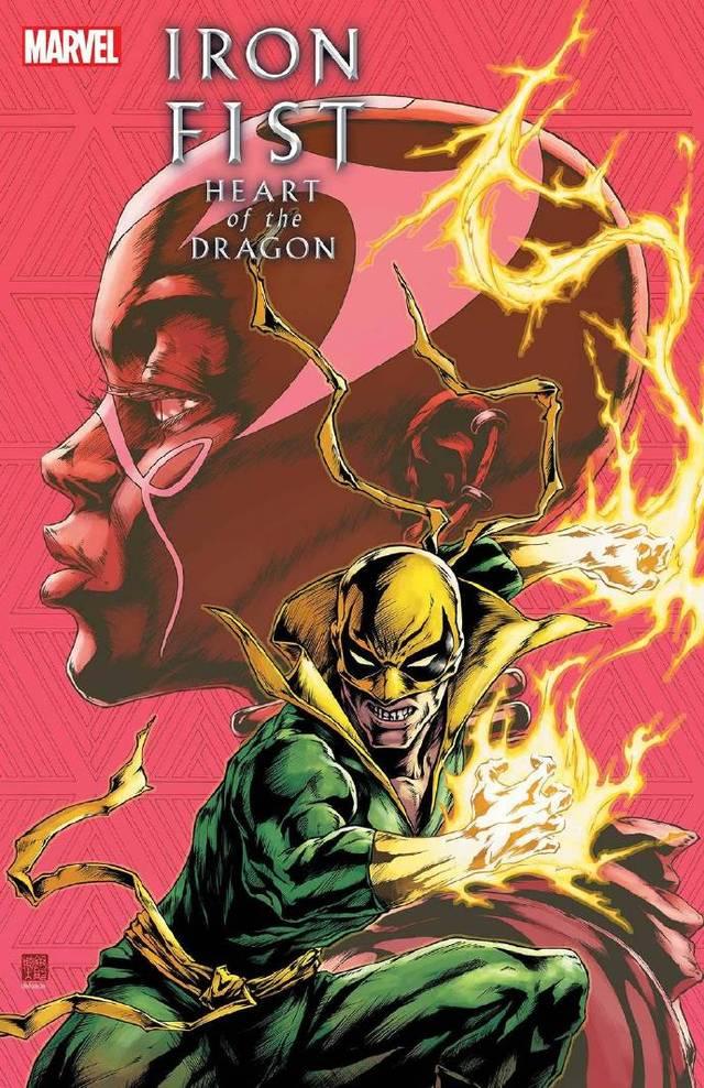 画师绘制「铁拳:龙之心」第6期变体封面图公开