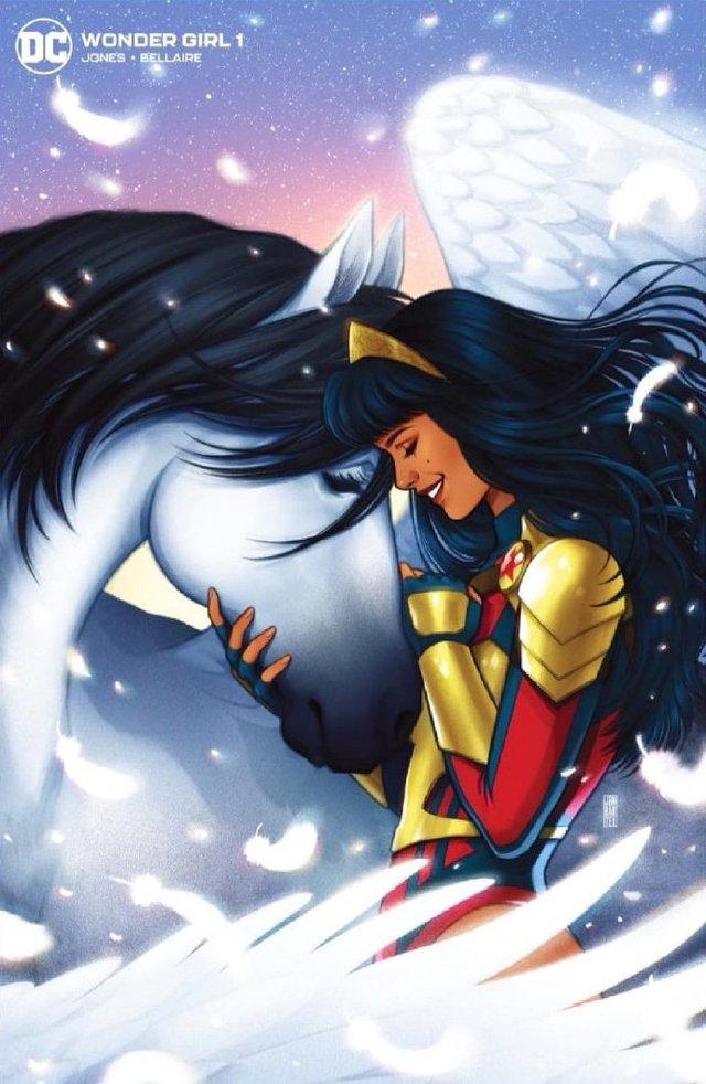 得奖画师绘制「神奇少女」第1期零售商限定变体封面图公开