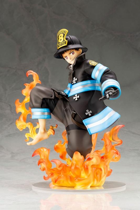「炎炎消防队」森罗日下部手办开订