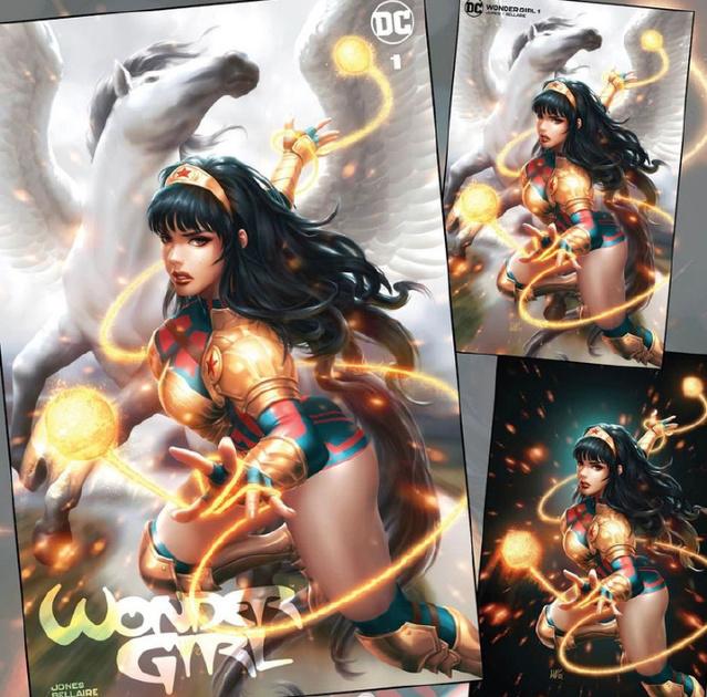 画师绘制的「神奇少女」第一期零售商限定变体封面图公开
