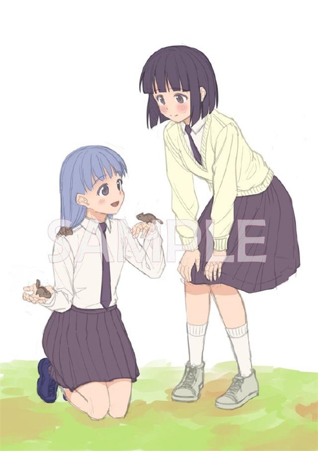 动画「本田小狼与我」Blu-ray BOX特典插图公开