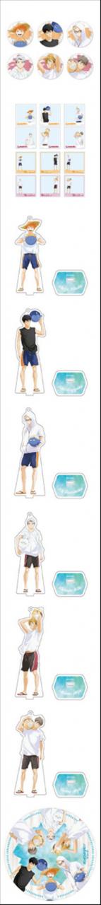 「排球少年」x文房具Cafe公开联动新周边
