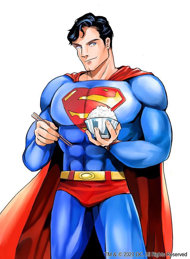 超人题材美食漫画「SUPERMAN vs饭超人的一人食」连载开启