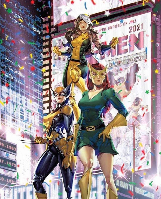 漫威漫画「X战警」第1期变体封面公开